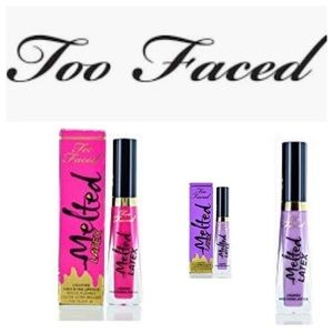 Too Faced Pink and Twilight Zone Lipsticks